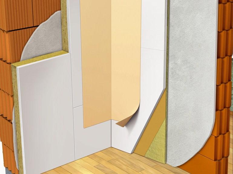 Prodotti per l 39 edilizia costruzioni a secco - Isolamento termico dall interno ...